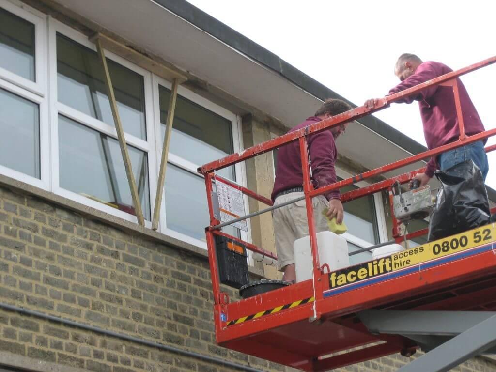 Haywards Heath district council concrete repairs