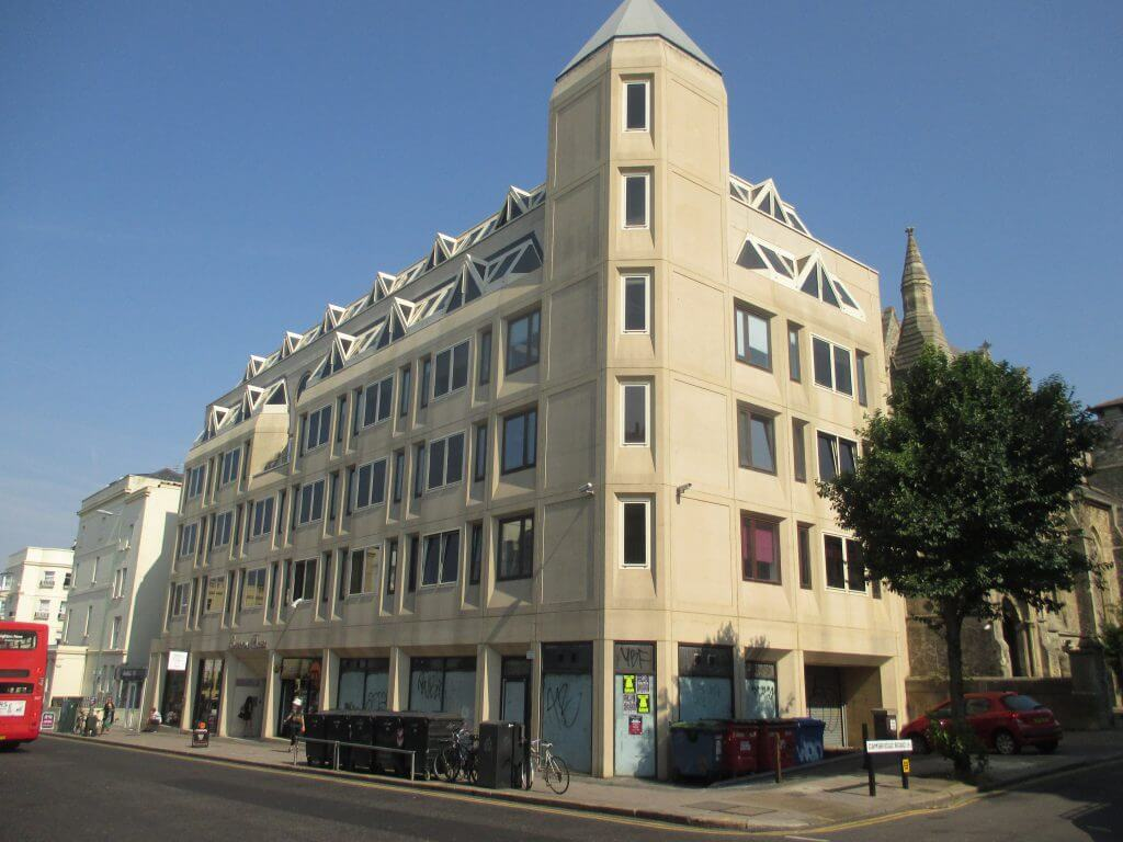 masonry cleaning - Sheridan House Western Road Hove